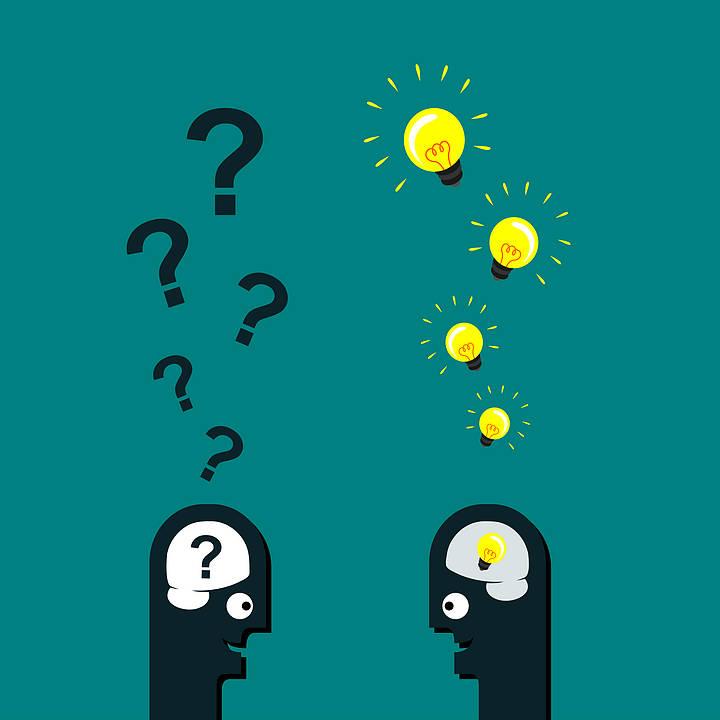 question idea graphic
