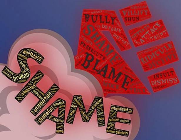 shame blame graphic
