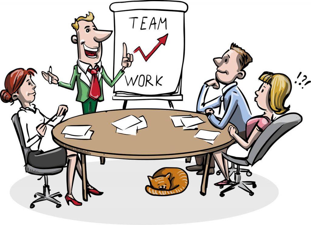 team work graphic